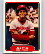 1982 Fleer #81 Joe Price VG Cincinnati Reds