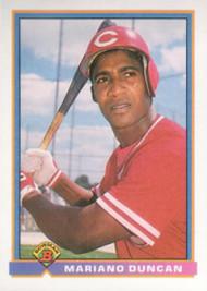 1991 Bowman #675 Mariano Duncan VG Cincinnati Reds