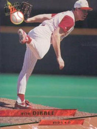 1993 Ultra #327 Rob Dibble VG Cincinnati Reds