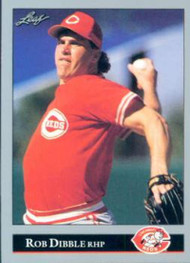 1992 Leaf #69 Rob Dibble VG Cincinnati Reds