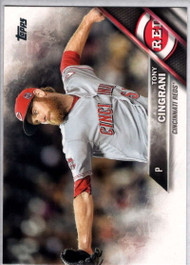 2016 Topps #671 Tony Cingrani NM-MT Cincinnati Reds