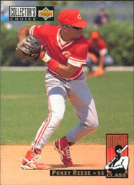 1994 Collector's Choice #666 Pokey Reese VG Cincinnati Reds