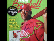 Ryan Howard Autographed October 2006 Beckett Baseball Magazine