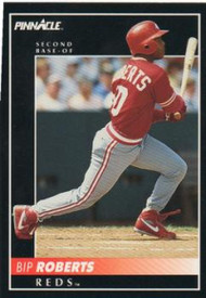 1992 Pinnacle #404 Bip Roberts VG Cincinnati Reds