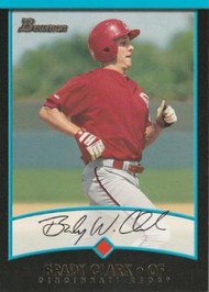 2001 Bowman #174 Brady Clark VG Cincinnati Reds