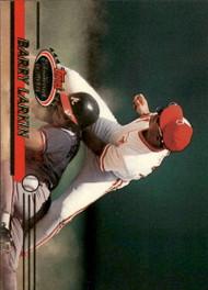 1993 Stadium Club #415 Barry Larkin VG Cincinnati Reds