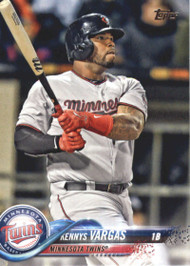 2018 Topps #533 Kennys Vargas NM-MT Minnesota Twins