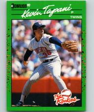 1990 Donruss Rookies #35 Kevin Tapani VG Minnesota Twins
