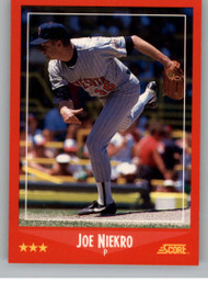1988 Score #237 Joe Niekro VG Minnesota Twins
