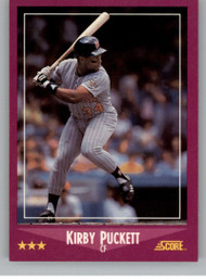 1988 Score #24 Kirby Puckett VG Minnesota Twins