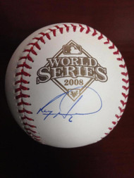 SOLD 2651 Ryan Howard Autographed Rawlings Official 2008 World Series Baseball
