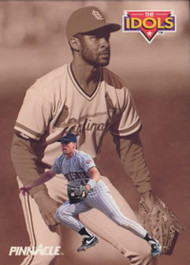 1992 Pinnacle #285 Ozzie Smith/Chuck Knoblauch VG St. Louis Cardinals/Minnesota Twins