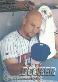 1997 Fleer #143 Rich Becker VG Minnesota Twins