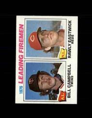 1977 Topps #8 Bill Campbell/Rawly Eastwick Saves Leaders VG Minnesota Twins/Cincinnati Reds