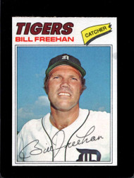 1977 Topps #22 Bill Freehan VG Detroit Tigers