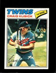 1977 Topps #38 Craig Kusick VG Minnesota Twins