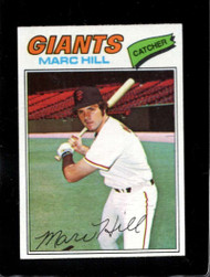 1977 Topps #57 Marc Hill VG San Francisco Giants