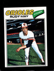 1977 Topps #56 Rudy May VG Baltimore Orioles