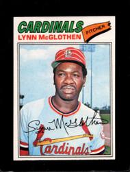 1977 Topps #47 Lynn McGlothen VG St. Louis Cardinals