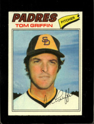1977 Topps #39 Tom Griffin VG San Diego Padres