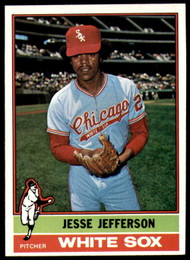 1976 Topps #47 Jesse Jefferson VG Chicago White Sox