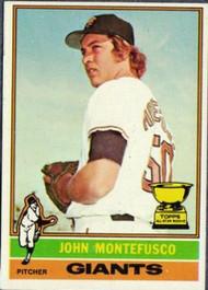 1976 Topps #30 John Montefusco VG RC Rookie San Francisco Giants