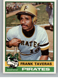1976 Topps #36 Frank Taveras VG Pittsburgh Pirates