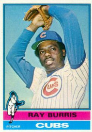 1976 Topps #51 Ray Burris VG Chicago Cubs