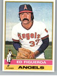 1976 Topps #27 Ed Figueroa VG California Angels