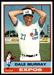 1976 Topps #18 Dale Murray VG Montreal Expos