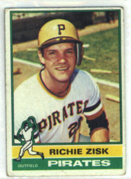 1976 Topps #12 Richie Zisk VG Pittsburgh Pirates