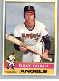 1976 Topps #52 Dave Chalk VG California Angels