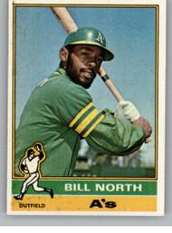 1976 Topps #33 Bill North VG Oakland Athletics
