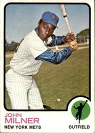 1973 Topps #4 John Milner VG New York Mets