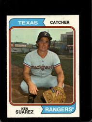 1974 Topps #39 Ken Suarez VG Texas Rangers
