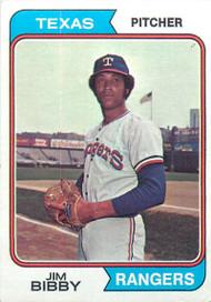 1974 Topps #11 Jim Bibby VG Texas Rangers