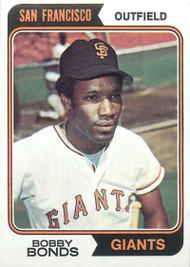 1974 Topps #30 Bobby Bonds VG San Francisco Giants