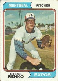 1974 Topps #49 Steve Renko VG Montreal Expos