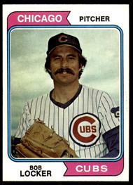 1974 Topps #62 Bob Locker VG Chicago Cubs
