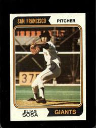 1974 Topps #54 Elias Sosa VG RC Rookie San Francisco Giants