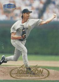 1998 Fleer Update #U49 Randy Johnson VG Houston Astros