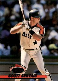 1993 Stadium Club #363 Scott Servais VG Houston Astros