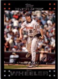 2007 Topps #62 Dan Wheeler NM-MT Houston Astros
