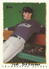 1995 Topps #19 Sid Bream VG  Houston Astros