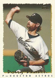 1995 Topps #75 Doug Drabek VG  Houston Astros