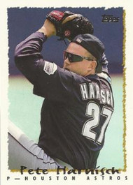 1995 Topps #48 Pete Harnisch VG  Houston Astros