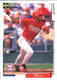 1998 Collector's Choice #461 Bobby Abreu VG  Philadelphia Phillies