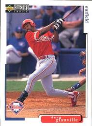 1998 Collector's Choice #458 Doug Glanville VG  Philadelphia Phillies