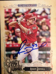 SOLD 2784 Adam Duvall Autographed 2017 Topps Gypsy Queen #233