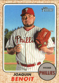 2017 Topps Heritage High Numbers #632 Joaquin Benoit NM-MT Philadelphia Phillies
